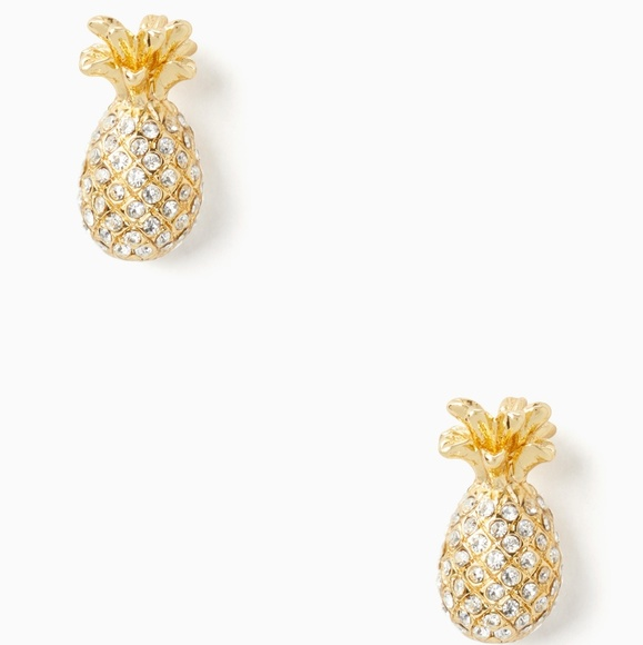 c7797cec16906 🎉SALE!!!🎉NWOT By the Pool Pave Pineapple Studs